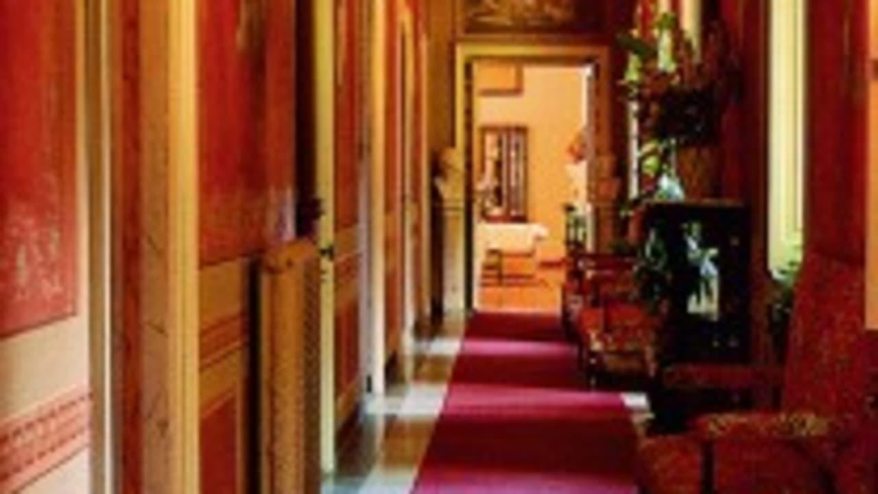 Der Flur im alten Landhaus Villa Carolina. Das Hotel biete sich als Ausgangspunkt zu Touren an. (Foto: Weihrauch)