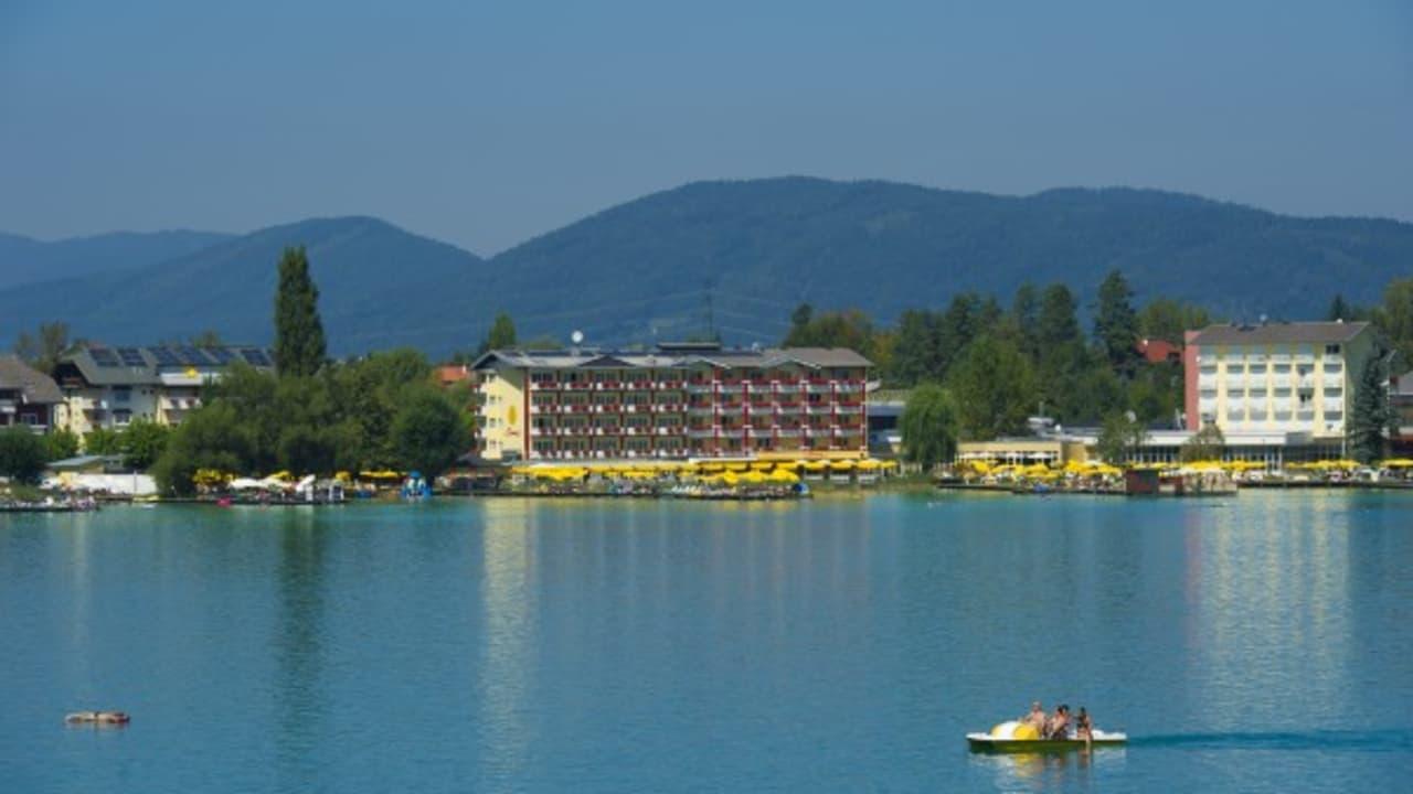 Die Ferienhotels Sonne am Klopeiner See in St. Kanzian (Foto: Mateidl).