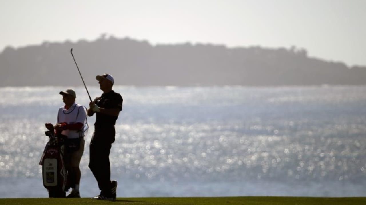 Pebble Beach Golf Links ist vor allem durch seine schönen Aussichten bekannt.  (Foto: Getty)