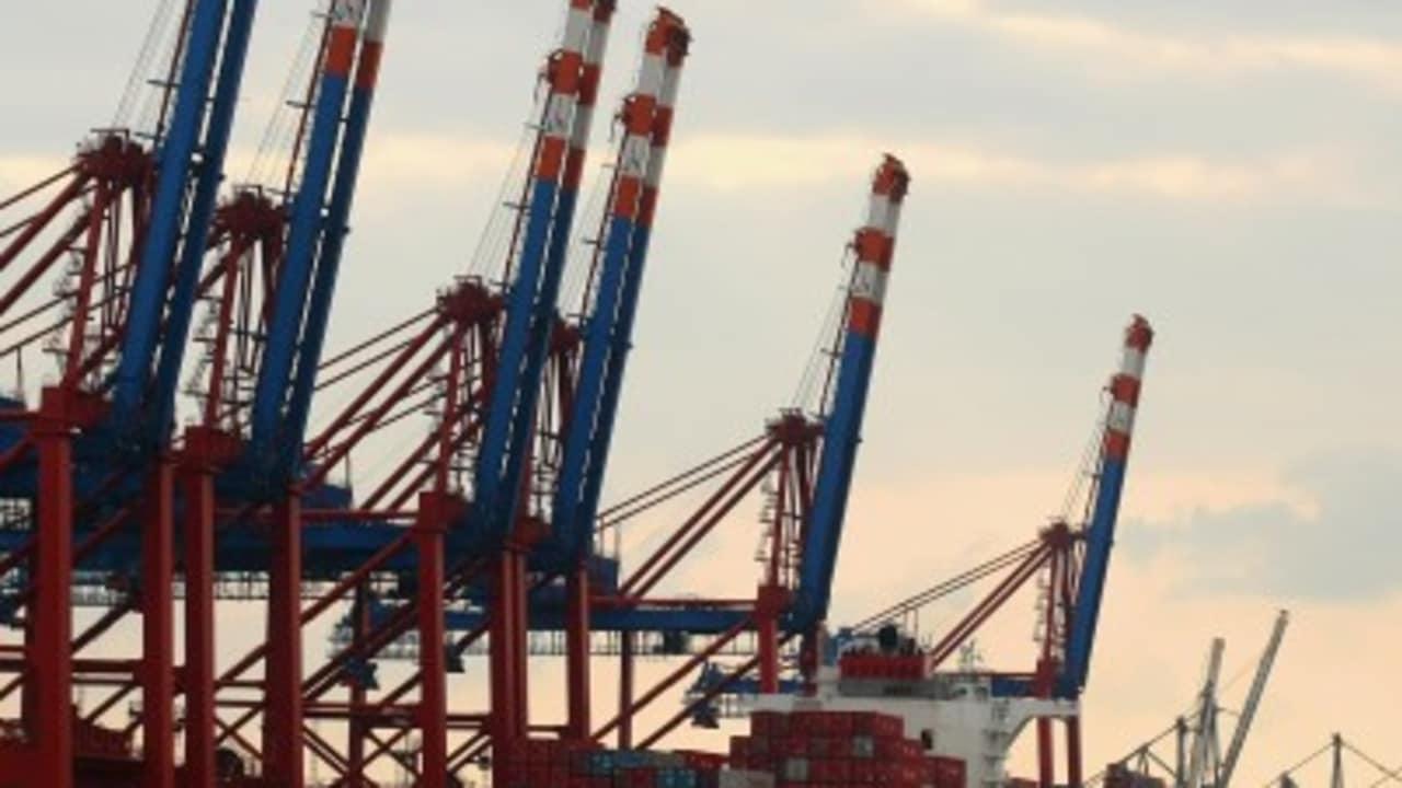 Hamburger Hafen: Der offene Tidehafen an der Unterelbe in der Freien und Hansestadt Hamburg. (Foto: Getty)