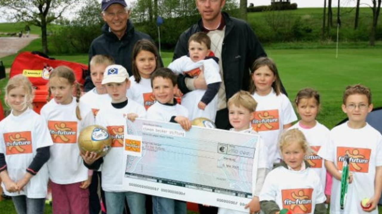 Die Boris Becker Golf Trophy, ein Charity-Turnier zugunsten der Boris Becker Stiftung wurde bereits auf dem Golfplatz Gut Kaden ausgetragen. (Foto: Getty)