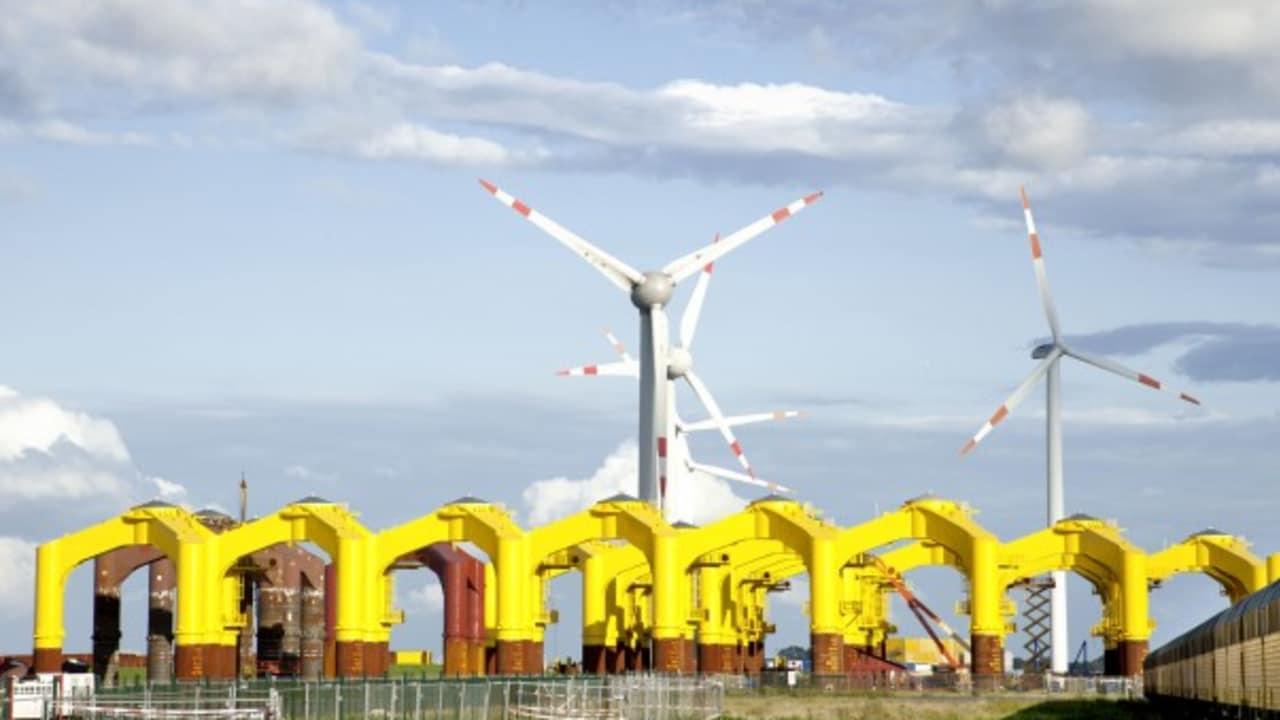 Die Windkraftanlage Groden im Landkreis Cuxhaven sorgt für erneuerbare Energie & Nachhaltigkeit. (Foto: Hamburg Marketing GmbH)