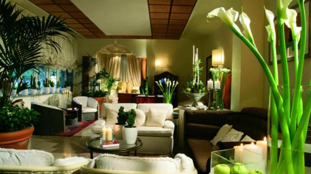Die Lobby des Hotels. (Foto:Park Hotel Brasilia)