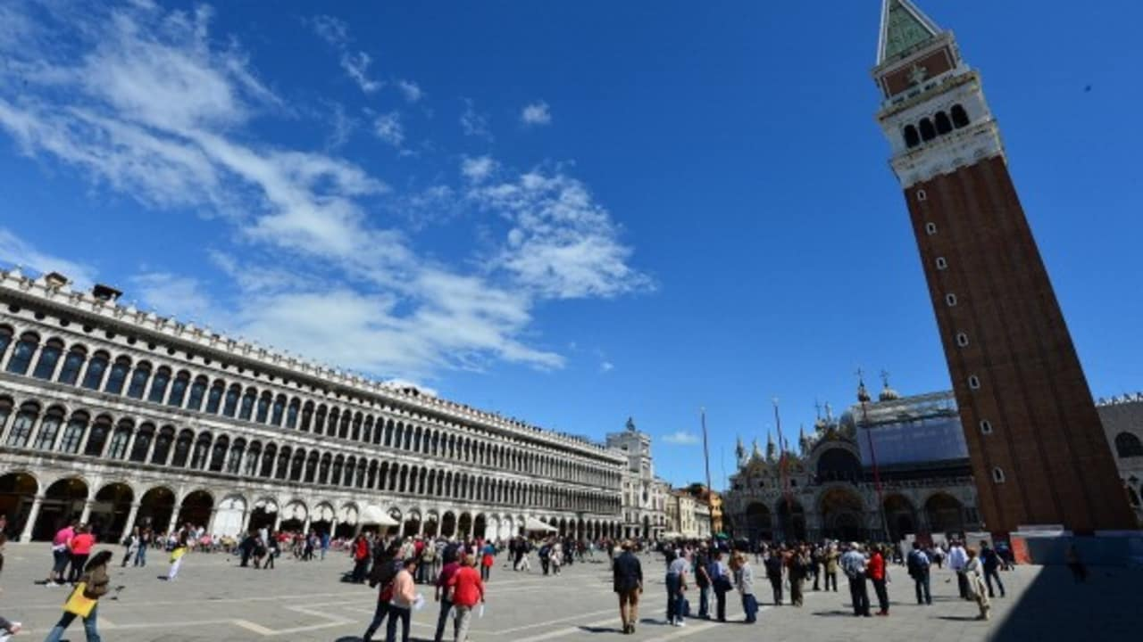 St Mark's Platz in Venedig. (Foto: Getty)