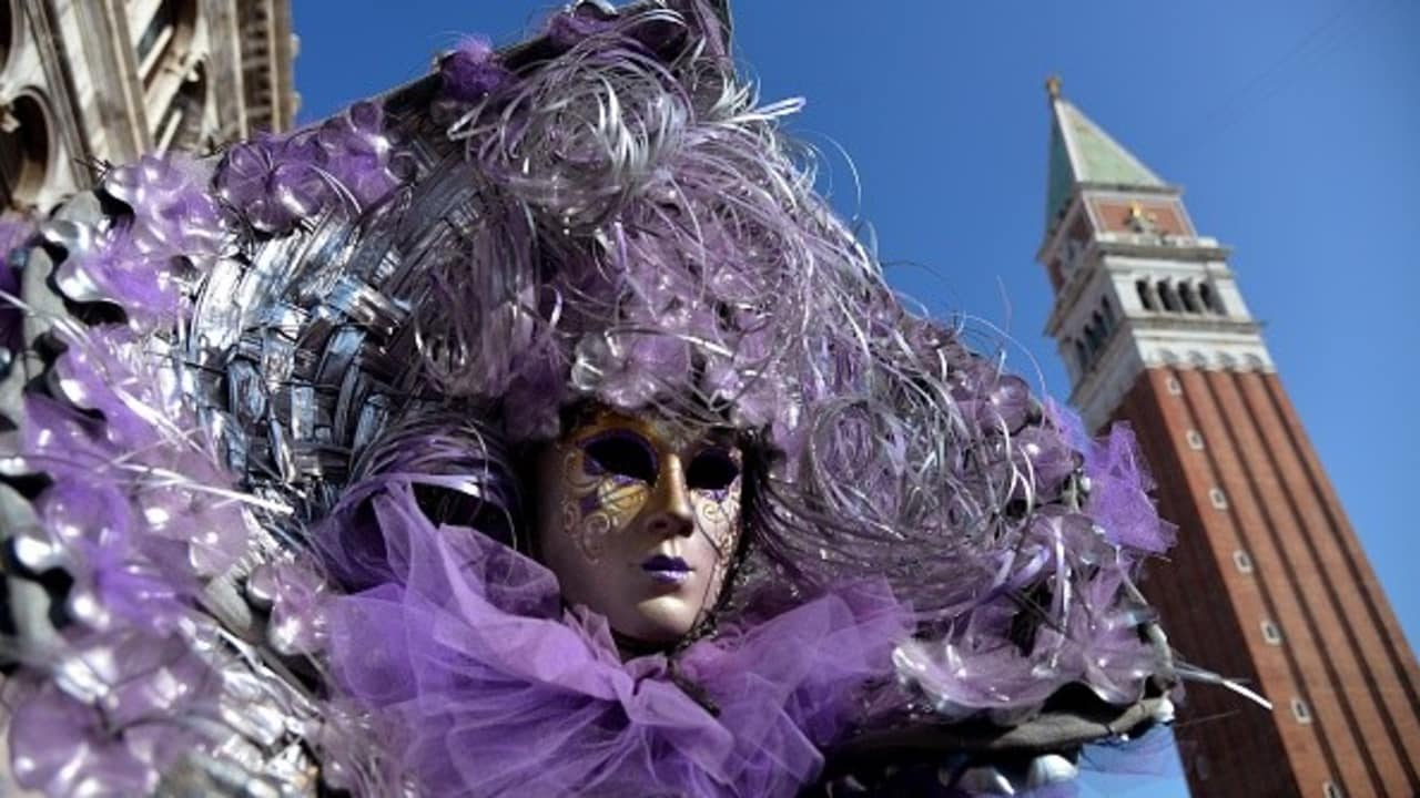 Karneval am St. Mark's Platz in Venedig. (Foto: Getty)