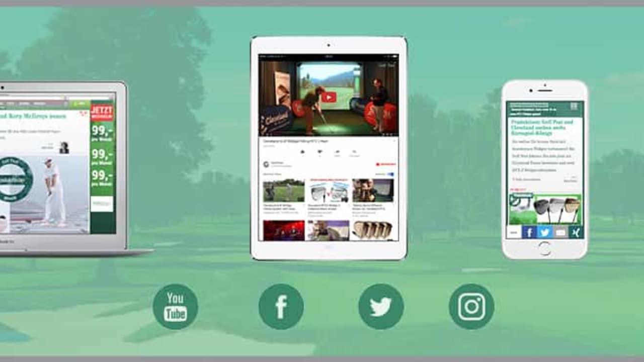 Golf-Post-Produkttests