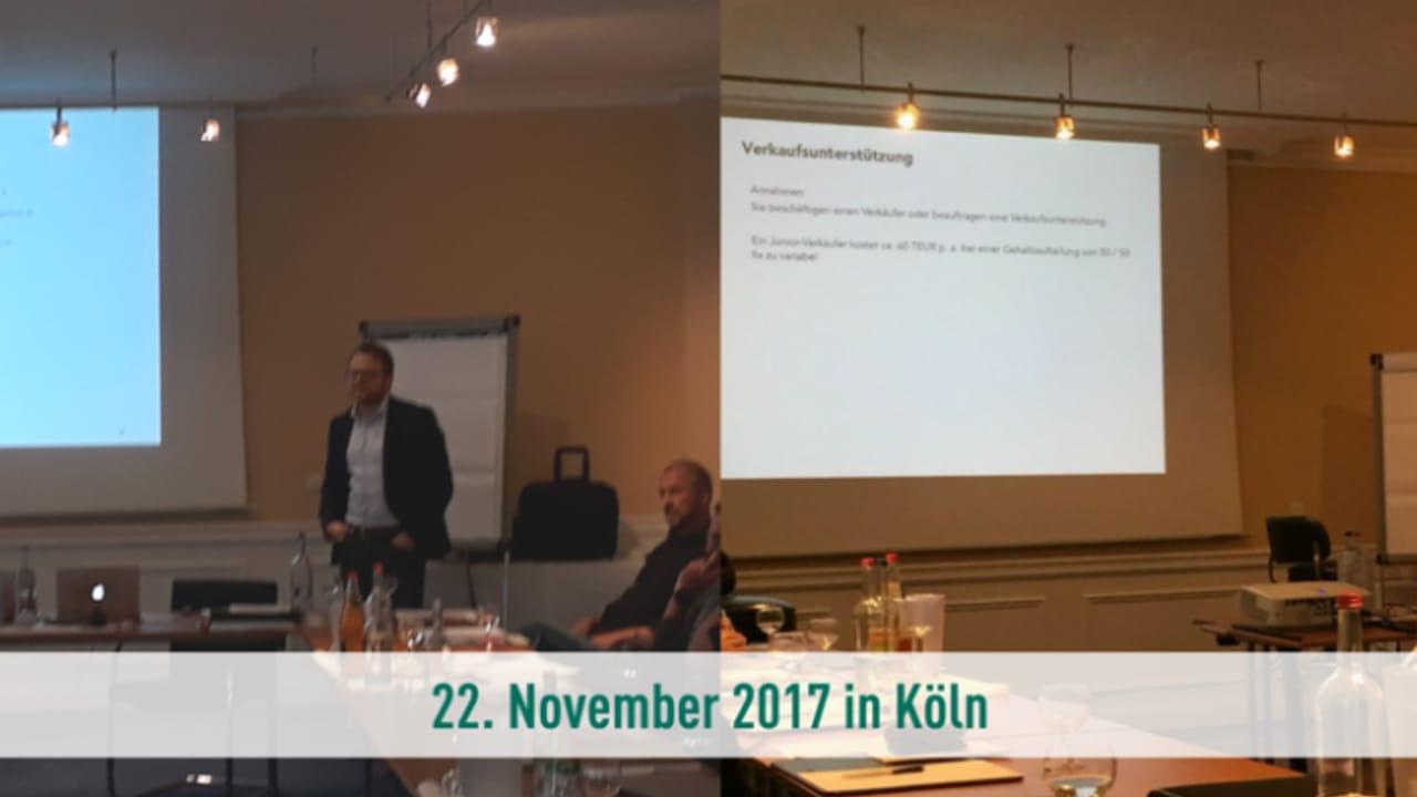 Der Fachtag Vertriebsorientierte Kommunikation mit Golf Post und Christian Köhler findet am 22.11. im STARTPLATZ in Köln statt. (Foto: Christian Köhler)