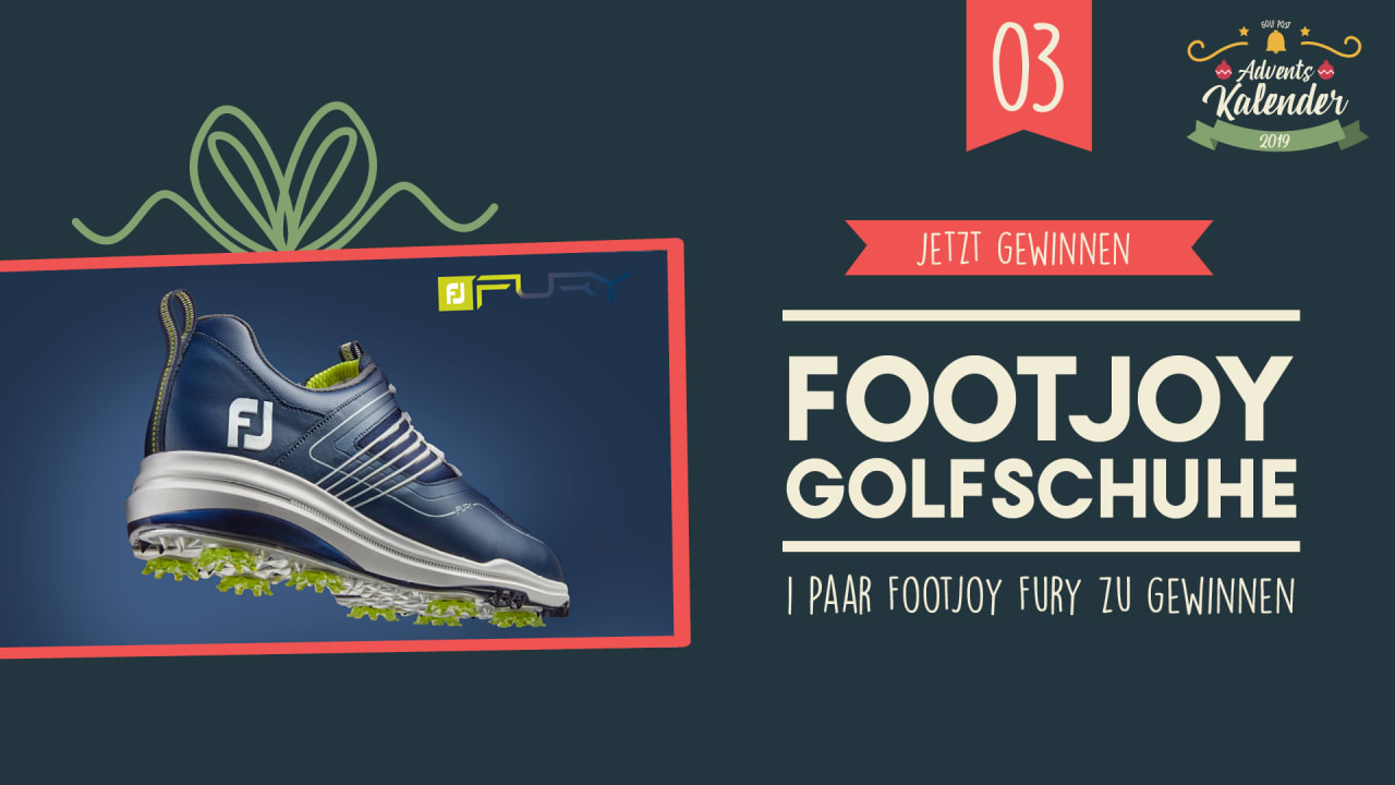 Adventskalender 2019: 03. Dezember mit FootJoy. Quelle: Golf Post