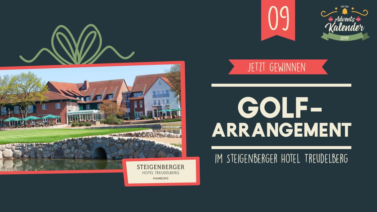 Adventskalender 2019: 19. Dezember mit Steigenberger Treudelberg. Quelle: Golf Post