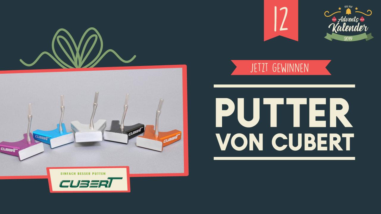 Adventskalender 2019: 12. Dezember mit Cubert Putter. Quelle: Golf Post