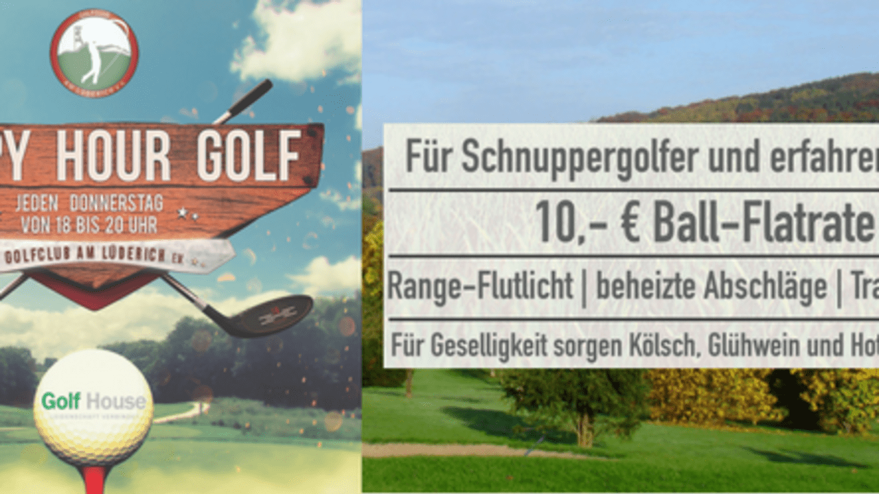 HAPPY HOUR GOLF am Lüderich