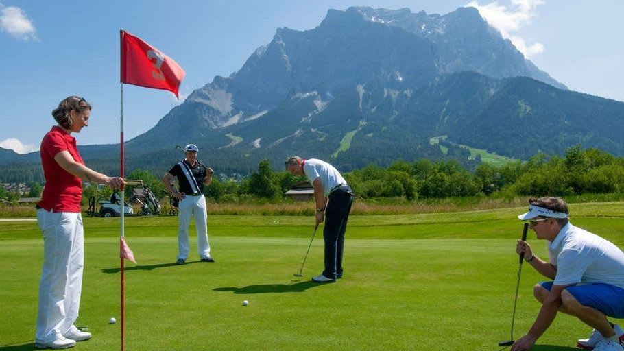Golfclub Zugspitze-Tirol Ehrwald-Lermoos - Golfclub in Ehrwald