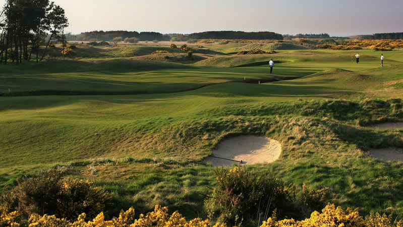 Dundonald Links - Golfclub in North Ayrshire