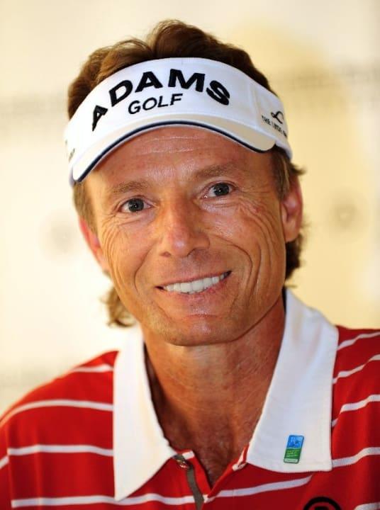 Deutscher Golfspieler Bernhard