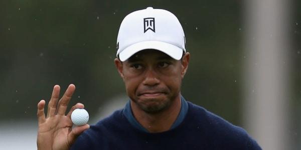 Woods mit Ball