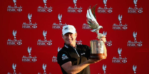 Jamie Donaldson - Golf Post - Abu Dhabi HSBC Golf Championship - Day Four