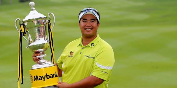 Strahlender Sieger der Maybank Malaysian Open: Kiradech Aphibarnrat. (Foto: Getty)