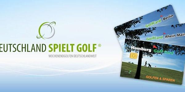 Gewinnt wöchentlich Golf Vorteilskarten aus der Region Rhein-Main, Berlin und Hamburg.