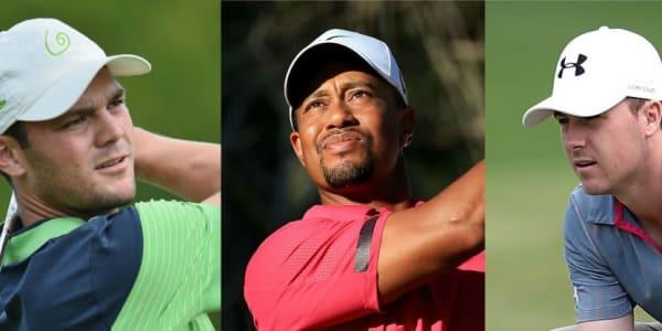 Tiger Woods und Martin Kaymer können ihre Positionen in der Weltrangliste halten. Jordan Spieth gehört hingegen zu den Aufsteigern des Jahres