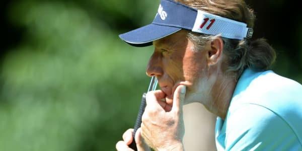 Bernhard Langer verteidigte am zweiten Tag der Toshiba Classic seine Führung und geht mit zwei Schlägen Vorsprung ins Finale auf der Champions Tour