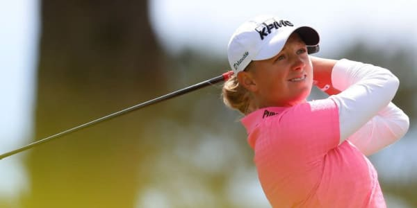 Stacy Lewis bei der Swinging Skirts LPGA Classic 2014