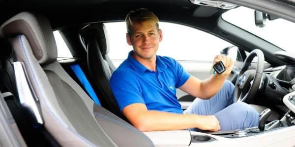 James Heath BMW i8