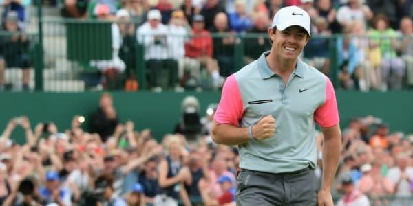 Dank seines Sieges bei der British Open, klettert Rory McIlroy bis auf Platz 2 der Weltrangliste. (Foto: Getty)