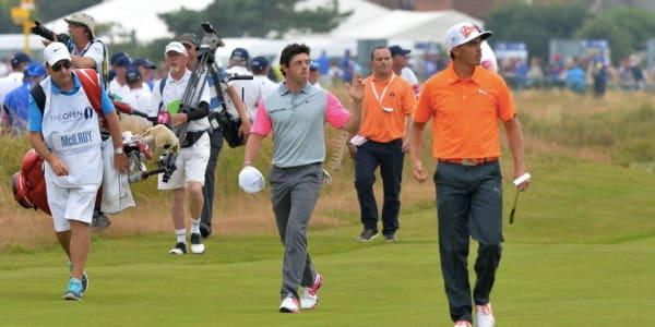 Rory McIlroy holt sich den Claret Jug bei der British Open. (Foto: Getty)