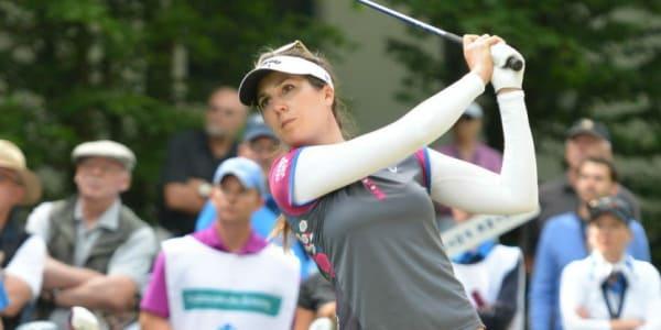 Sandra Gal kam gut in die Ladies German Open und liegt in Lauerstellung hinter den Führenden.