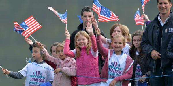 Beim Junior Ryder Cup steuert das Team USA auf einen erneuten Sieg zu.