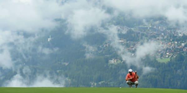 Dicke Wolken über dem Platz - symbolisch für die Leistungen der Deutschen in dieser Woche. (Foto: Getty)