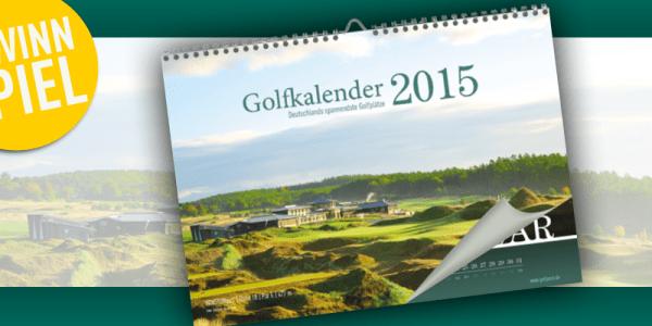 Gewinnspiel: Golf Post Golfkalender 2015 (Bild: Golf Post)