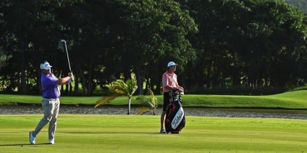 Der Südafrikaner George Coetzee gewinnt bei der Premiere auf Mauritius sein zweites Turnier der Saison. (Foto: Getty)