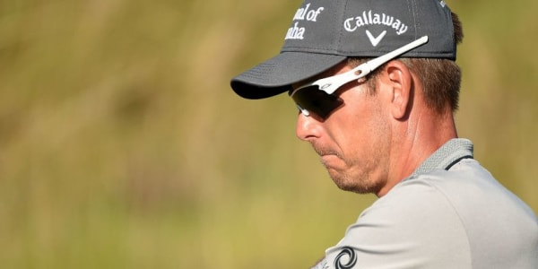 Henrik Stenson fiel bei der US Open in der zweiten Runde nach zu vielen Putts zurück.