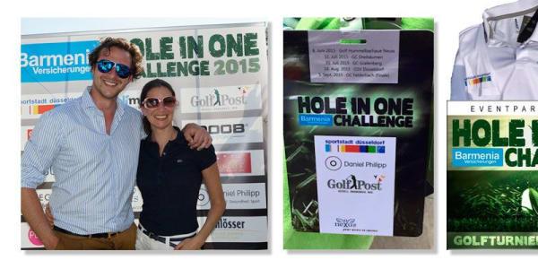Golf Post ist Medienpartner der Hole in One Challenge 2015
