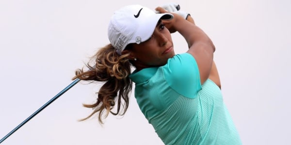 Cheyenne Woods führt ein Trio in Cambridge, Kanada mit Platzrekord an. (Foto: Getty)