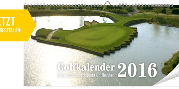Die Online-Abstimmung ist vorbei und die Motive für den neuen Golf Post Golfkalender stehen fest. Schlagen Sie jetzt zu und sichern Sie sich Ihren Golfkalender 2016. (Foto: Golf Post)