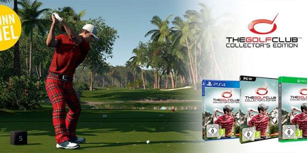 Beim Gewinnspiel von Golf Post zusammen mit Koch Media gibt es diese Woche das Spiel The Golf Club Collector's Edition sowie eine PS4 zu gewinnen. (Bild: Golf Post)