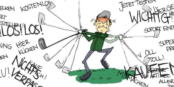 Gute Gründe für Werbung bei Golf Post (Foto: Golf Post)