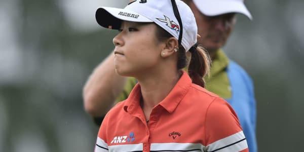 Selbstbewusster Blick: Lydia Ko rückt bei der LPGA Taiwan Championship auf Platz eins vor. (Foto: Getty)