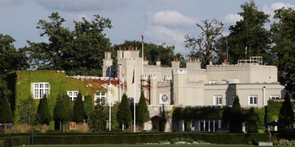 Wentworth Golf Club in Surrey bei London. (Foto: Getty)