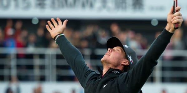 Befreiendes Gefühl! - Kristoffer Broberg gewinnt mit dem BMW Masters sein erstes Turnier auf der European Tour. (Foto: Getty)