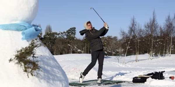 Alternativen zum Golftraining im Winter (Foto: Getty)