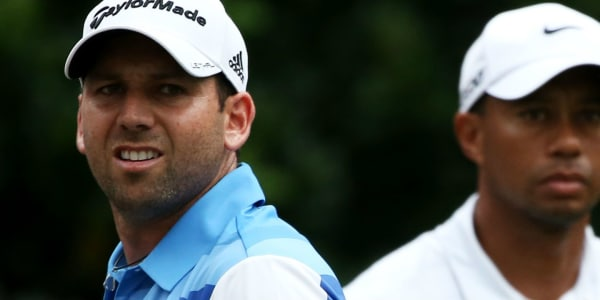 Sergio Garcia wird Gastgeber der Open de Espana, seinem Heimatturnier. Er und Woods haben ein angespanntes Verhältnis. (Foto: Getty)