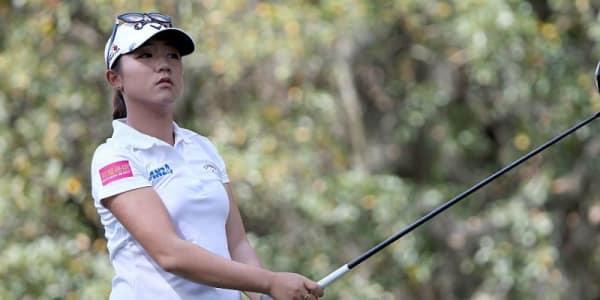 Noch nicht auf Hochtouren, aber noch mit allen Möglichkeiten bei der Coates Golf Championship: Lydia Ko. (Foto: Getty)