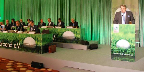 Der Deutsche Golf Verband tagte am 15. und 16. April in Frankfurt am Main. (Foto: Golf Post)