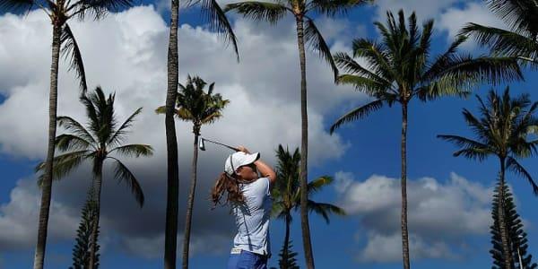 Katie Burnett aus den USA bei der Lotte Championship auf Hawaii. (Foto: Getty)