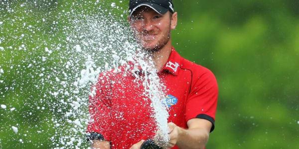 Chris Wood gewinnt die BMW PGA Championship. (Foto: Getty)