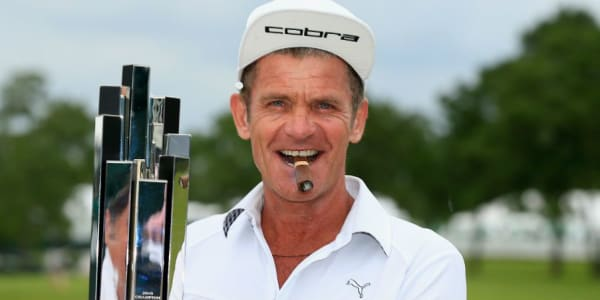 Jesper Parnevik gewinnt das Insperity Invitational in Texas. (Foto: Getty)