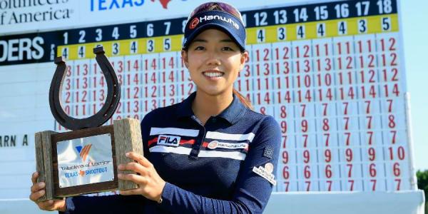 Strahlende Siegerin des Texas Shootout in Irving: Die Südkoreanerin Jenny Shin. (Foto: Getty)